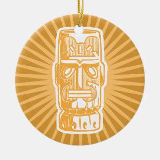 Tiki Orange ornament
