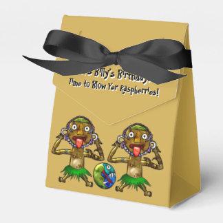 Tiki Party Funny Design (Personalized) Favor Box