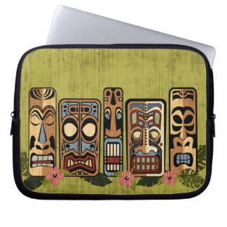 Tiki Party Laptop Sleeve