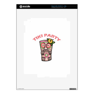 TIKI Party Decals For The iPad 2