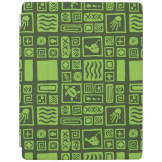 Tiki Pattern iPad Cover