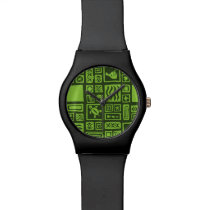 Tiki Pattern Watch