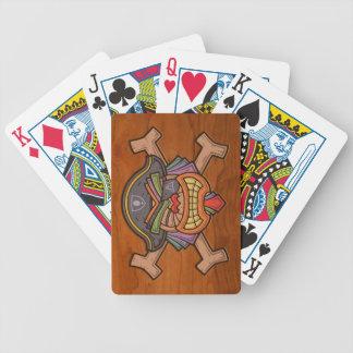 Tiki Pirate 813 Bicycle Playing Cards