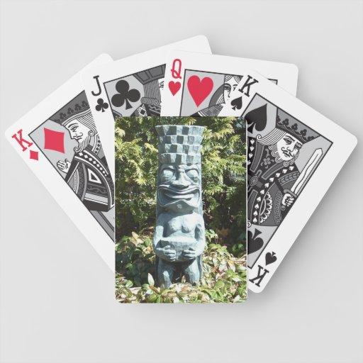 TIKI playing cards Bicycle Playing Cards