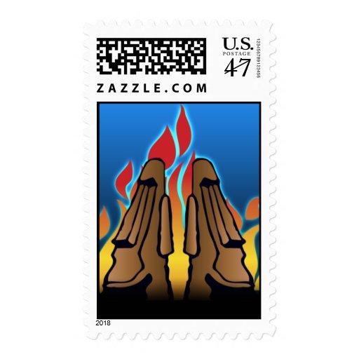 Tiki Postage Stamp