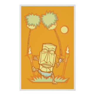 Tiki retro Witchdoctor Posters