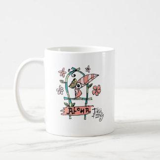 Tiki Room Birds on a Perch by Tiki tOny Coffee Mug