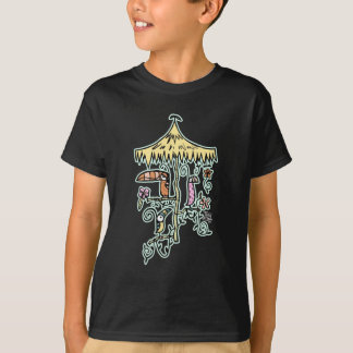 Tiki Room Birds on a Perch by Tiki tOny T-Shirt