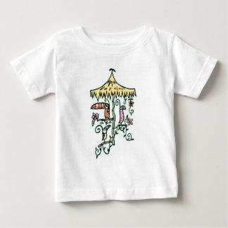 Tiki Room Birds on a Perch by Tiki tOny Tee Shirt