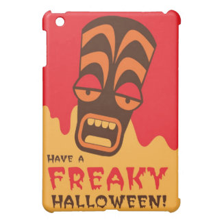 TIKI SCREAM! have a FREAKY Halloween! iPad Mini Cases