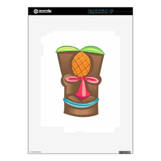 TIKI DECAL FOR iPad 2
