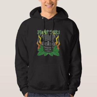 Tiki Skull Mask Hoodie