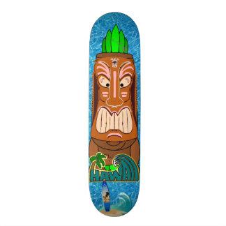 Tiki Statue Hawaii Skateboard Deck
