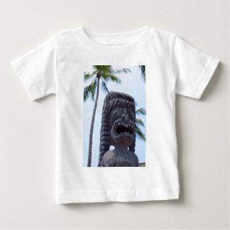 Tiki Statue in Kona, Hawaii - Infant T-Shirt