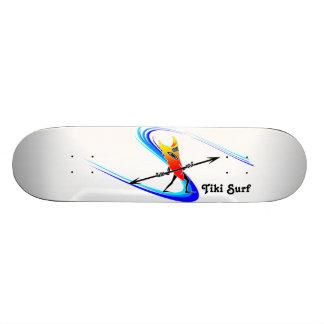 Tiki Surfer Skateboard