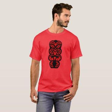 Hawaiian Themed Tiki T-Shirt