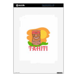 TIKI TAHITI iPad 2 DECAL