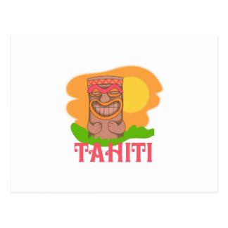 TIKI TAHITÍ TARJETAS POSTALES