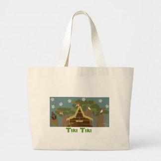 Tiki Tiki Tote Bags