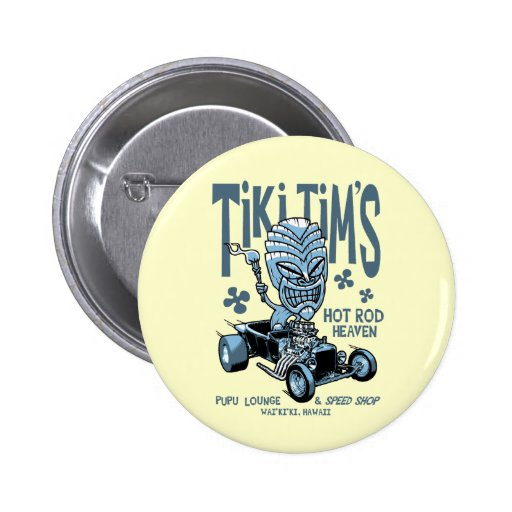 Tiki Tim Pin Redondo 5 Cm