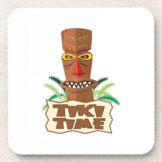 Tiki Time Drink Coaster
