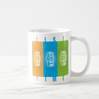 Tiki Time mug
