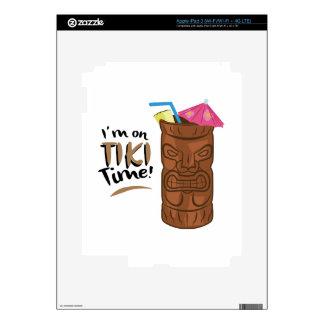 Tiki Time iPad 3 Skins