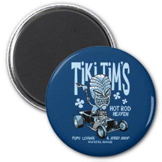 Tiki Tim's 2 Inch Round Magnet