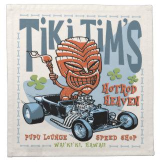 Tiki Tim's II Printed Napkins