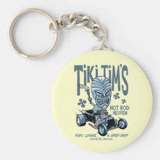 Tiki Tim's Key Chain