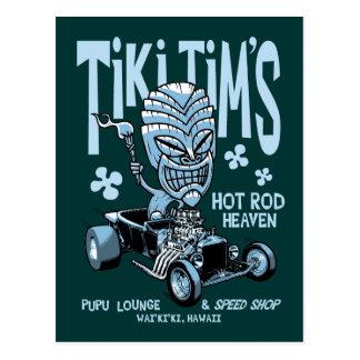 Tiki Tim's Postcard