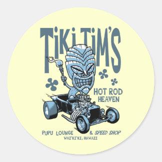 Tiki Tim's Stickers