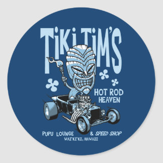 Tiki Tim's Sticker