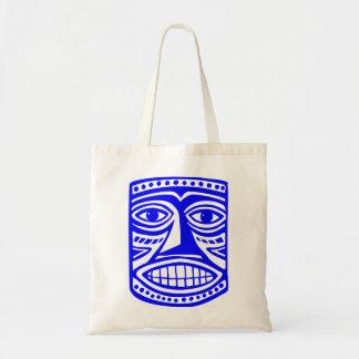 Tiki Toby - Blue Tote Bag