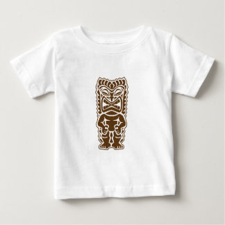 Tiki Totem Warrior Baby T-Shirt