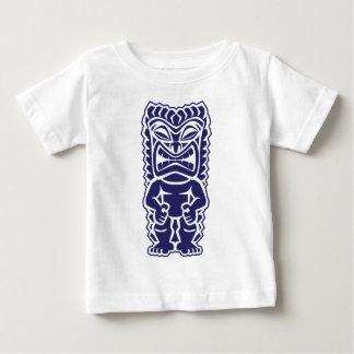 tiki totem warrior girl tribal baby T-Shirt