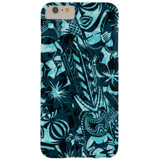 Tiki Trader Hawaiian Primitive Barely There iPhone 6 Plus Case