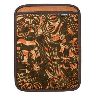 Tiki Trader Hawaiian Rickshaw iPad Case iPad Sleeve