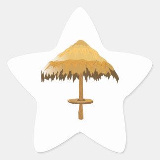 Tiki Umbrella Sticker