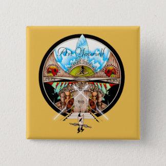 Tiki Village Button
