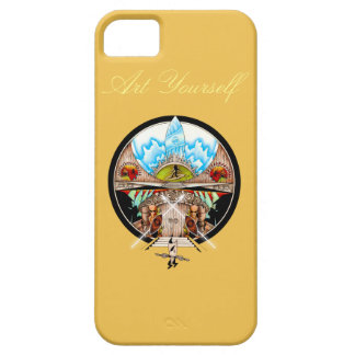 Tiki Village iPhone SE/5/5s Case