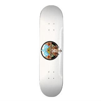 Tiki Village Skateboard Deck