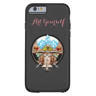 Tiki Village Tough iPhone 6 Case