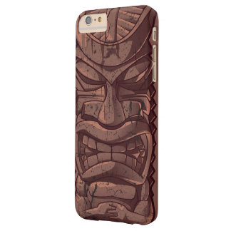 Tiki Wooden Statue Totem Sculpture Barely There iPhone 6 Plus Case