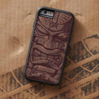 Tiki Wooden Statue Totem Sculpture Tough Xtreme iPhone 6 Case