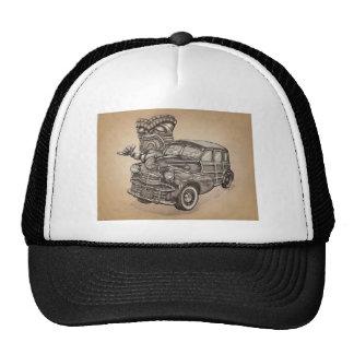 Tiki Woodie Trucker Hat