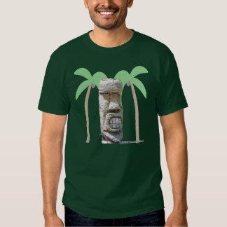 Tiki y palmas polera