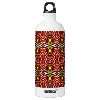 Tiki Zebra Stripe Brown Pattern SIGG Traveler 1.0L Water Bottle