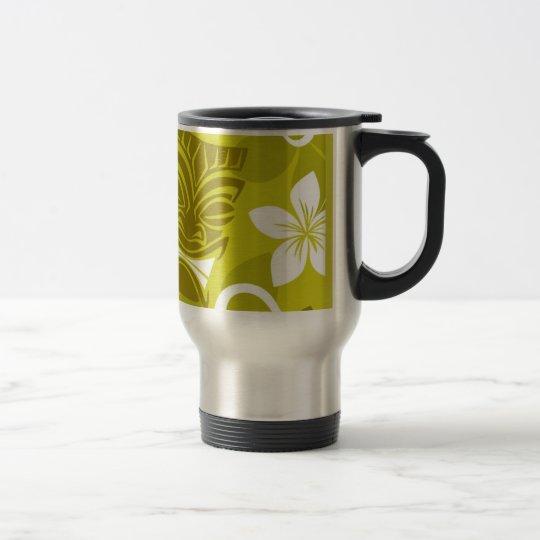 Tikiflowers Travel Mug