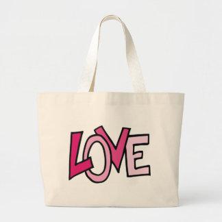 tikigiki_love-text-001--.png large tote bag
